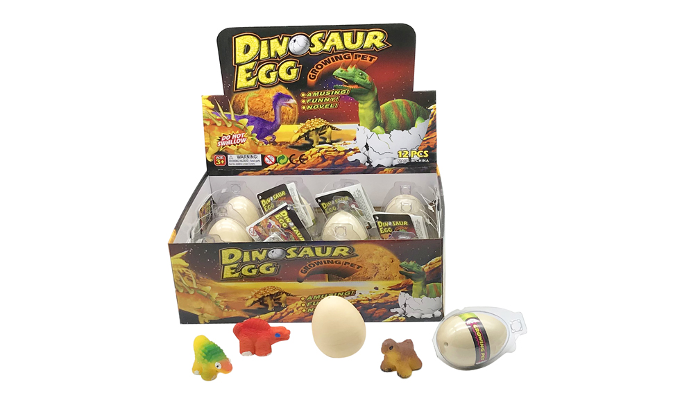 10 Stücke Magie Schlüpfen Growing Dinosaur Spaß Spielzeug