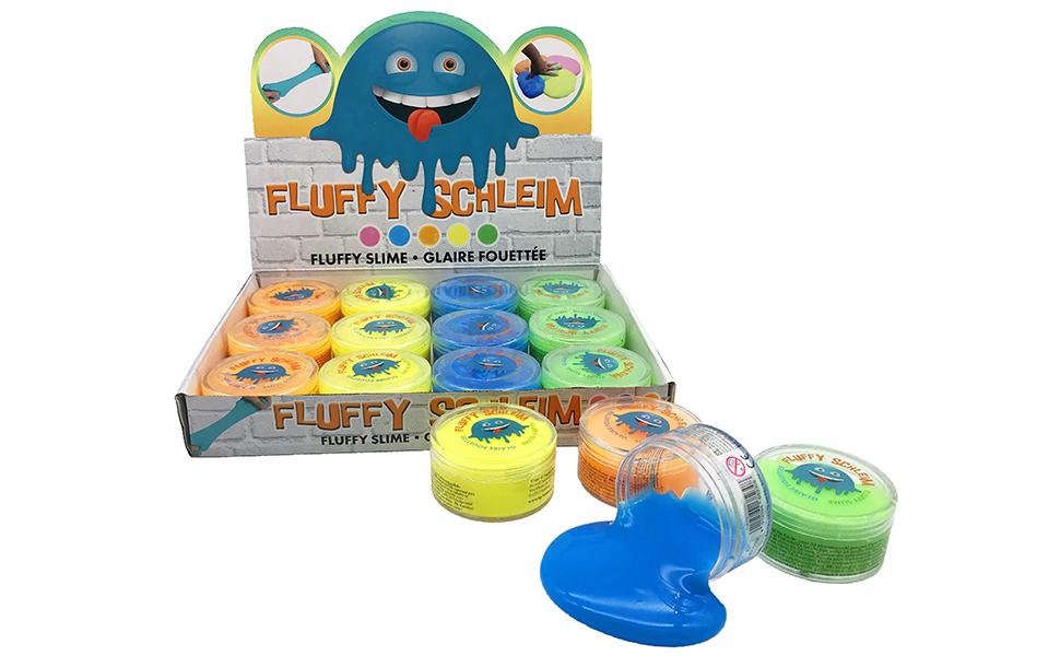 JustRean Toys 1 Dose duftender Fluffy Slime | fluffiger Flauschiger ...