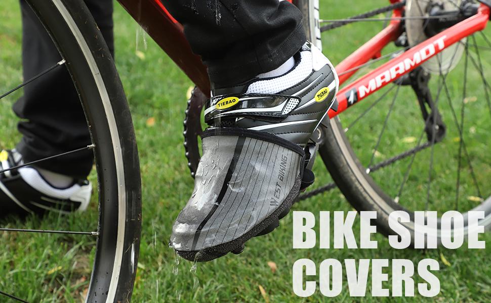 Wasserdicht Winddicht Neopren Regen Schnee Toe Cover Fahrr/äder Feet Gamaschen WESTGIRL /Überschuhe Reflektierend Fahrrad Radsport Zehenw/ärmer