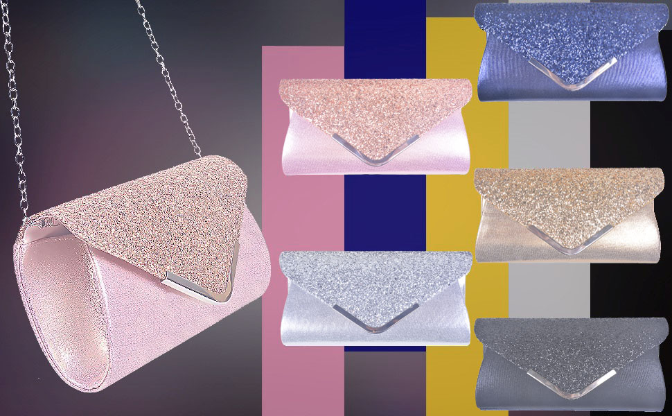 Clutches bag pink