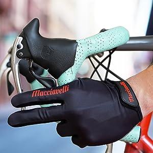 Fahrrad Handschuhe für Radsport als Vollfinger Variante