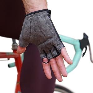 Fahrradhandschuhe mit gepolsterten, polsterung, gel einlagen