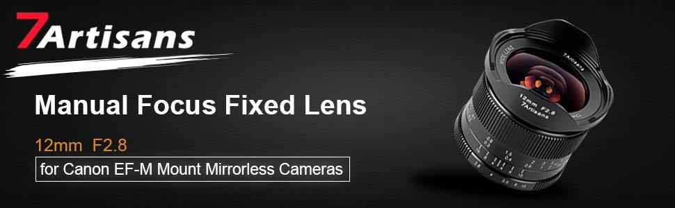 7artisans 12mm F2 8 Aps C Wide Angle Manuell Fixed Kamera