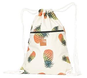 T-Bag Baumwoll Turnbeutel für Festival Ananas Style
