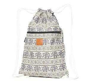 T-Bag Baumwoll Turnbeutel für Festival unterschiedliche Motive