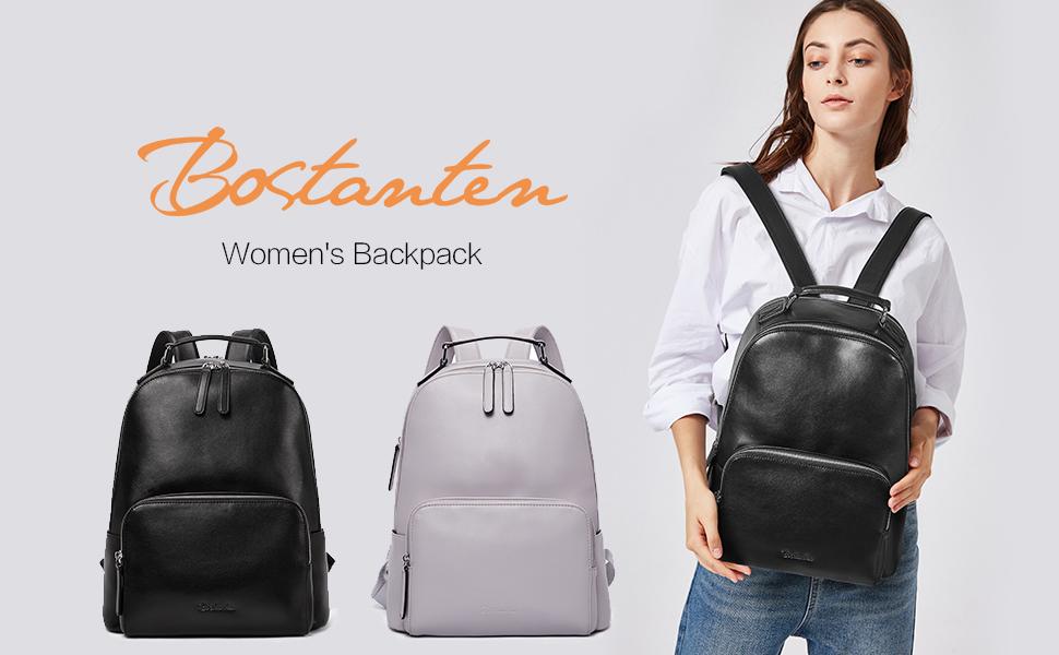 Leder backpack