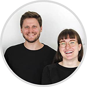 Teamfoto startup one47 gegen kater katermittel anti hangover drink Johanna und Chris