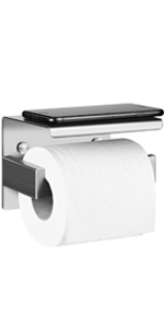 Aikzik Zelfklevende toiletpapierhouder