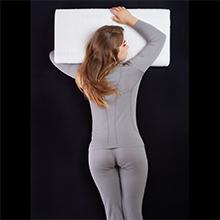 Das Kissen ist optimal geeignet Bauchschläfer geeignet