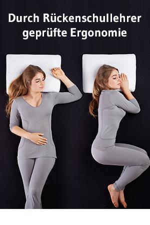 nackenst tzkissen nackenkissen matar orthop disches hws kopfkissen gegen nackenschmerzen. Black Bedroom Furniture Sets. Home Design Ideas