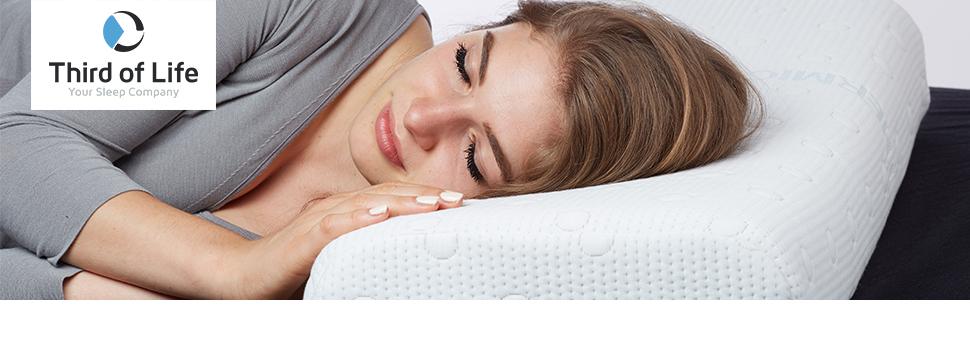kopfkissen 40x80 hadar h henverstellbar ergonomisches hws nackenst tzkissen aus visco schaum. Black Bedroom Furniture Sets. Home Design Ideas