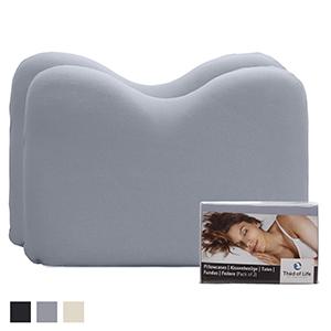 Kissenbezug ÖkoTex geprüft aus Baumwolle exakt passend, die ideale Bettwäsche für Ihr NuMOON