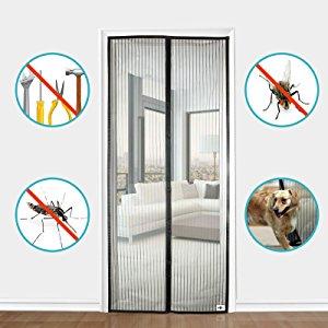 apalus magnet fliegengitter t r insektenschutz 90x210cm der magnetvorhang ist ideal f r die. Black Bedroom Furniture Sets. Home Design Ideas