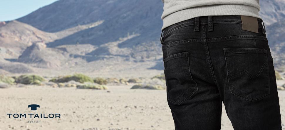 TOM TAILOR Denim Herren Super Slim Piers Jeans: