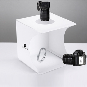 Wortek Lichtzelt Mit Beleuchtung Mobiles Fotostudio Set Elektronik