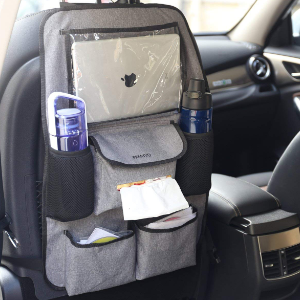 Premyo Auto Organizer Rücksitz Kinder Autositzschoner Rückenlehne Mit Tablet Fach Universal Rückenlehnenschutz Baby
