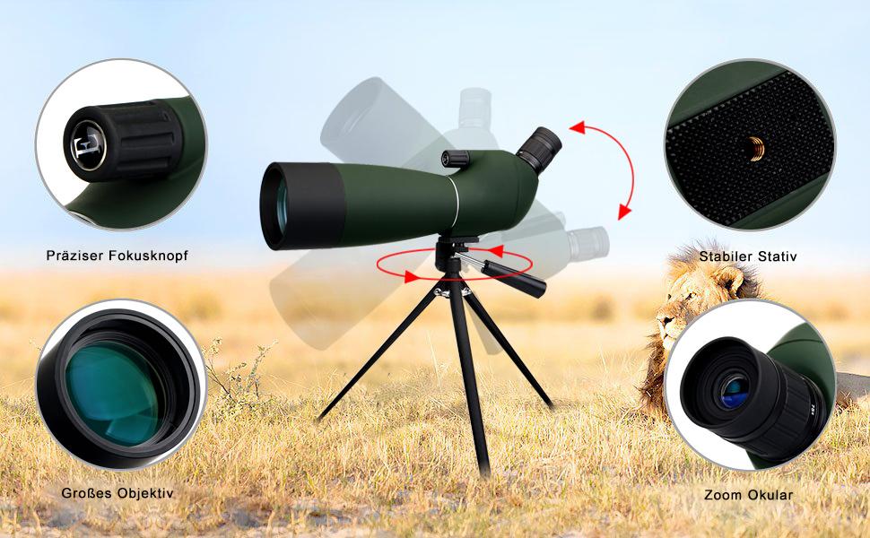 Svbony spektiv für sportschützen amazon kamera