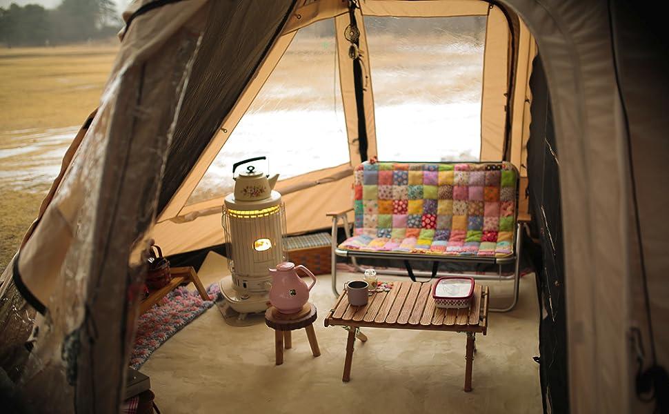 Xtend Adventure Sunset, Familienzelt, 6 Personen Camping