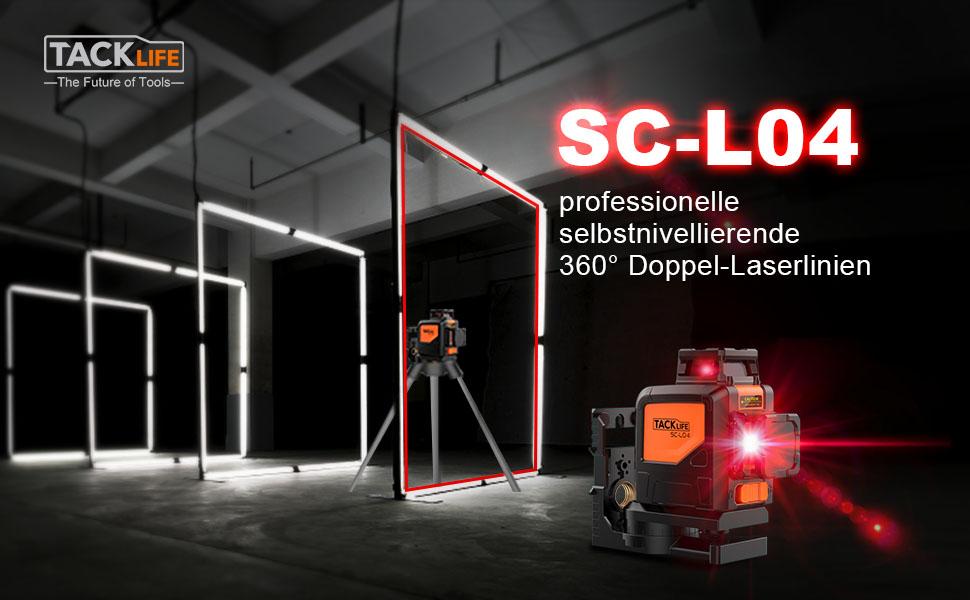 Tacklife Entfernungsmesser Unterschied : Tacklife sc l04 kreuzlinienlaser selbstnivellierend 360 grad