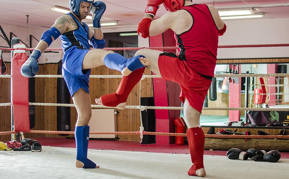 K1 Paffen Sport Allround Schienbein- und Spannschoner MMA und verwandten Kampfsportarten effektive Sch/ützer f/ür Training und Wettkampf im Muay Thai Kickboxen