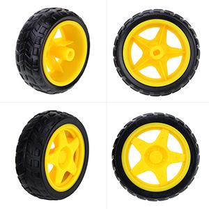 4 * langlebige Reifen
