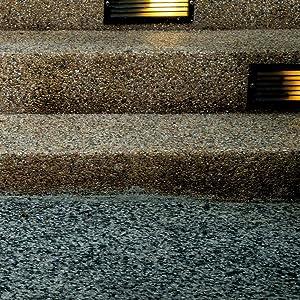 2K Epoxidharz Steinteppich Porenf/üller Bodenbel/äge Steinboden Treppe W731 9KG