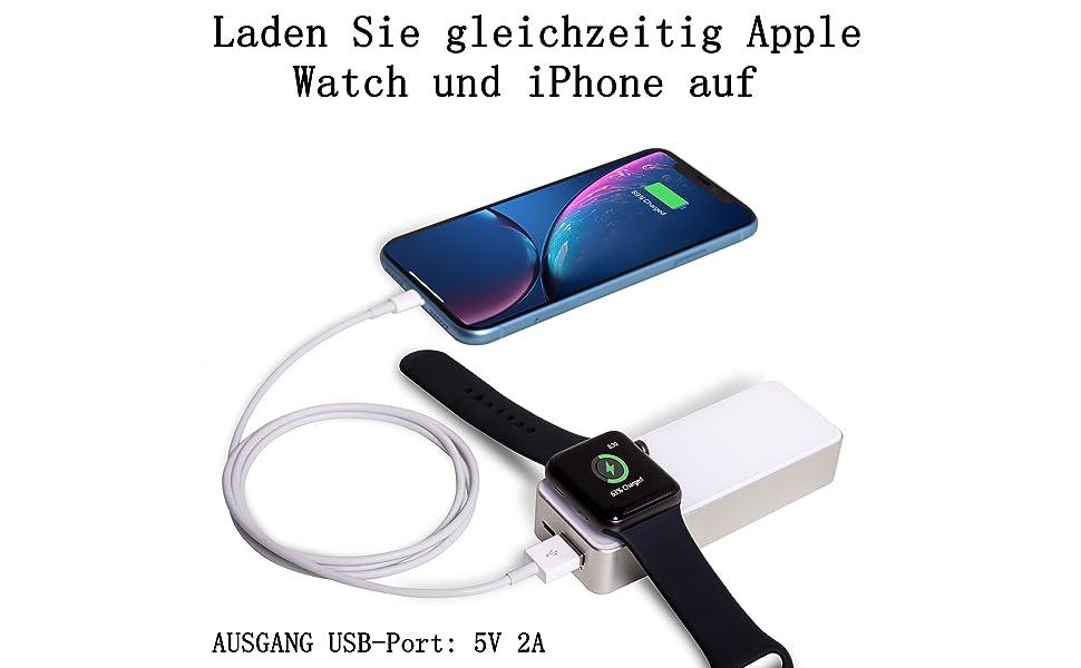 Handys & Telekommunikation 5200 Mah Tragbare Power Bank Magnetische Ladegerät Für Apple Uhr Iwatch 1 2 3 4 Drahtlose Ladegerät Externe Batterie Für Iphone 7 8 Xs Schnelle Farbe