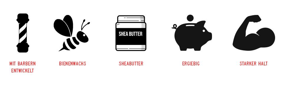 Bart weich machen lockerer halt balsam wachs wax bartpflege bart zähmen vorteile