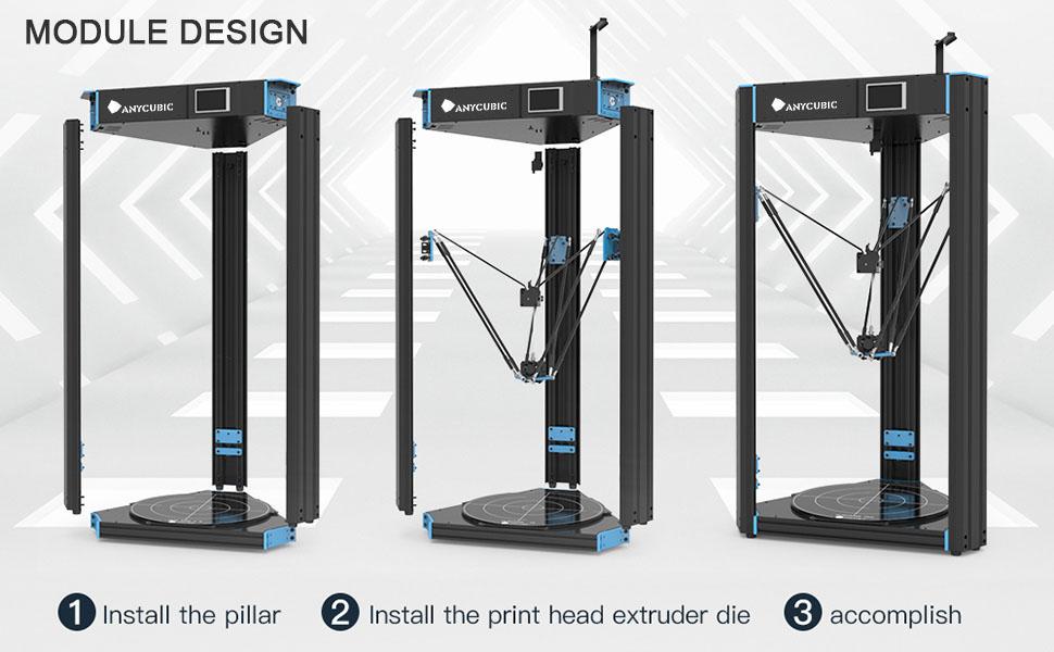 Anycubic Mega-s 3d Drucker Mega Upgrade Große Plus Größe Volle Metall Tft Touch Screen 3d Drucker Hohe Präzision 3d Drucker Büroelektronik