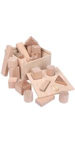 Steckbox Formensortierspiel BabyBauklötze
