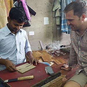 CEO Christian Pietsch zu Besuch in Indien