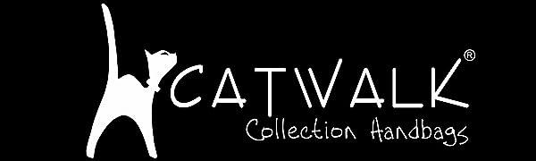 """Catwalk Collection Handbags Tote Große/Schultertasche / Shopper -""""Saffiano"""" Wasserbeständiges Leder"""