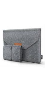 Tasche f/ür 15,6 Zoll Laptop Aktentasche aus Filztablett HOMIEE 15,4 15,6 Zoll Laptop Tasche mit zus/ätzlicher Aufbewahrungsbox und Mauspad