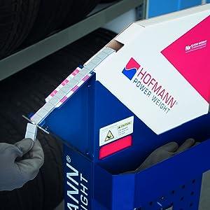 Abfalleimer Speed Cut Wuchtgewichte Klebegewichte Hofmann Power Weight Abfalleimer Rollenhalter Hofmann Speed Cut
