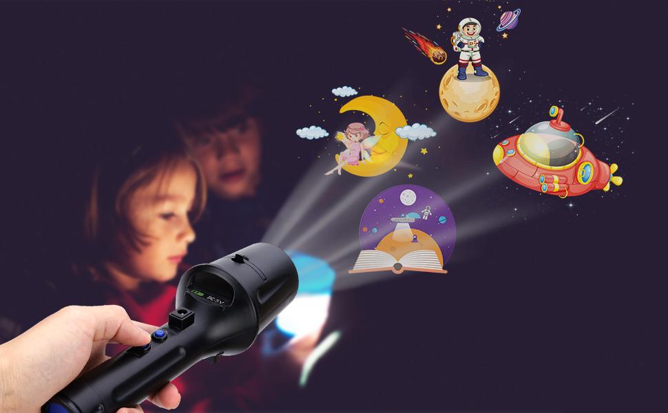 LED Projektor Weihnachten Taschenlampe, ALED LIGHT Tragbare Handheld ...