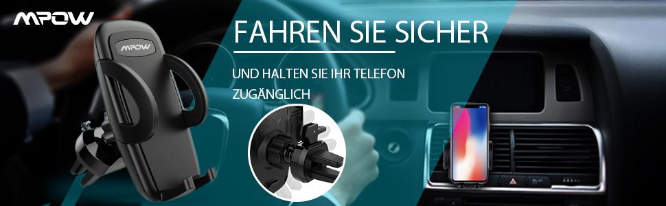 Mpow handyhalter auto,handyhalterung auto,smartphone halterung auto,Mpow Handyhalterung Auto Lüftung