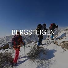 Pantalones de invierno de montaña para mujer, largos, para exteriores, funcionales, para trekking
