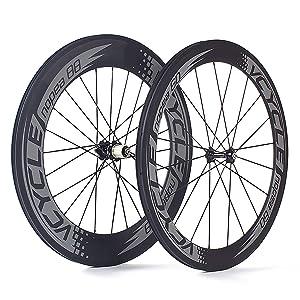 Rennrad Carbon Laufradsatz Drahtreifen