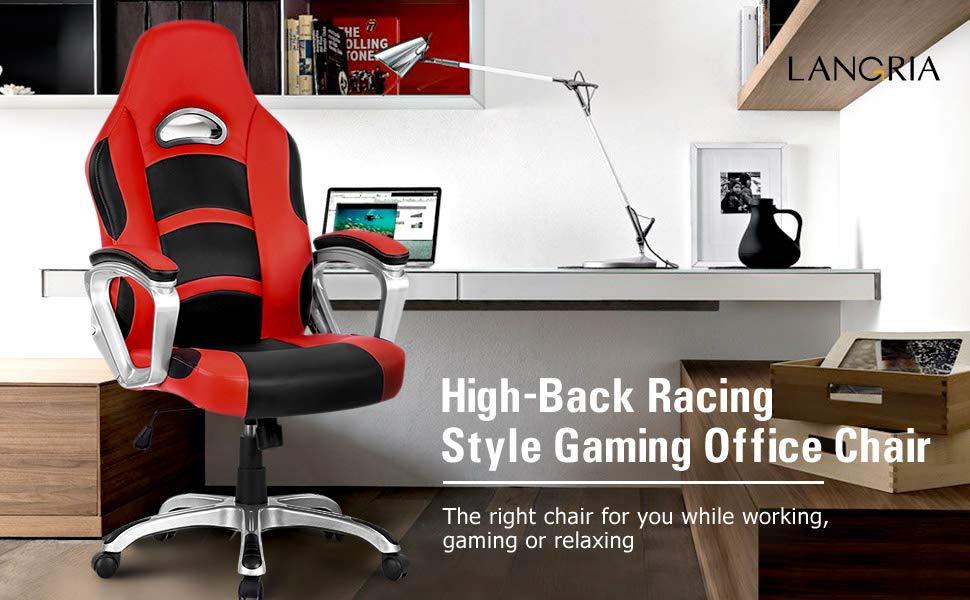 Amazon LANGRIA Gaming Stuhl Schreibtischstul
