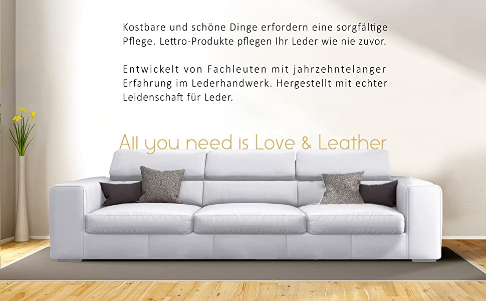Thoughtful Care, Designed to care for your leather, Leather Treatment, Leather Polish