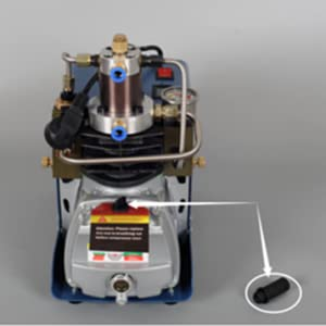 300BAR 30MPA 4500PSI automatische Steuerung Hochdrucksystem-Gewehr-Luftpumpe elektrischer Luftkompressor PCP Inflator f/ür HUKOER Hochdruckelektrische Luftkompressor-Pumpe