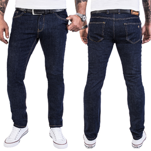 c4d4622723 Rock Creek Herren Jeans Hose Regular Slim Stretch M46: Amazon.de ...