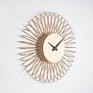 Wanduhr Circulo aus Holz
