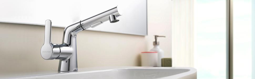 Mit Ihrem Schlichten Und Zeitlosen Design Passt BONADE Waschtischarmatur  Perfekt In Jedes Badezimmer. ✍ Eigenschaften: