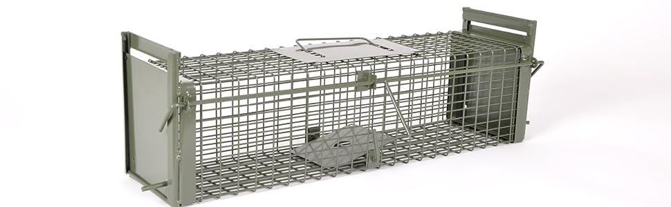 Die stabile Rattenfalle für den Lebendfang.