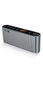 Antimi Bluetooth Wireless Speaker with FM Radio