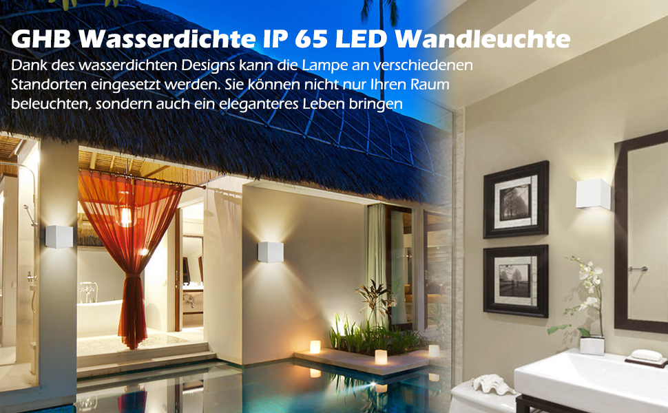 Moderne Lampen 65 : Ghb 7w led wandleuchte wandlampe mit einstellbar abstrahlwinkel