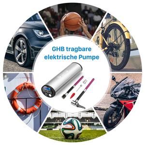 Ghb Mini Auto Luftpumpe Elektrischer Luftverdichter Für Elektronik