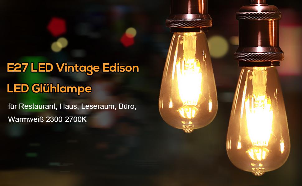 Retro Lampen Led : Led glühbirne avaway e glühbirne vintage edison glühlampe retro