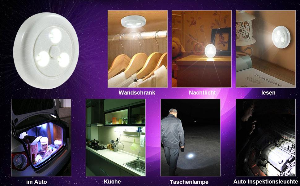 Clearance] Schranklicht Nachtlicht Super Hell Led Schrankbeleuchtung ...